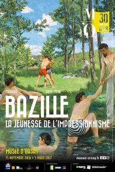 Exposition Frédéric Bazille, la jeunesse de l'impressionnisme au Musée d'Orsay jusqu'au 5 mars 2017