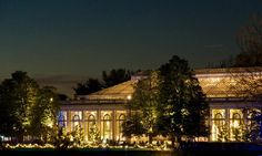 Longwood Garden's Conservatory in Chester County, PA