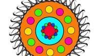 Mandalas de figuras geométricas. Perception, Mandalas, Different Shapes