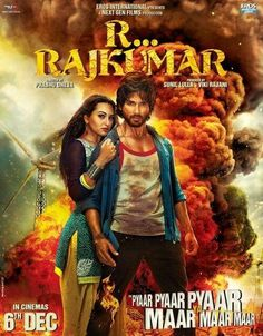 Hindi movie R.....RAJKUMAR