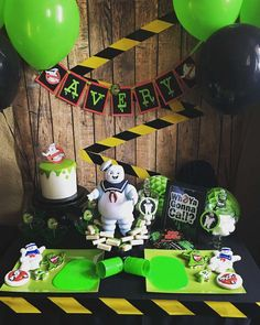 Ghostbusters  Birthday Party Ideas | Photo 1 of 9