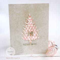 papierZART: Engelchenkarte, Weihnachtskarte, Alexandra Renke, aRTeam, Cardmaking, Xmascard