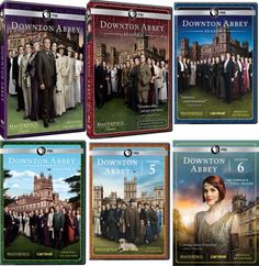 Masterpiece Classic: Downton Abbey Season 1-5 DVD Set TV Series Brand New