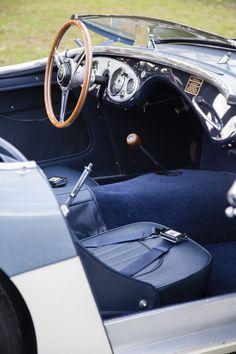 1956 Austin Healey 100M Interior