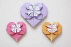 DIY: A Sweet Origami Heart http://blog.freepeople.com/2013/01/diy-sweet-origami-heart/