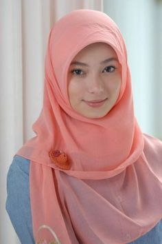 My favourite style of hijab <3