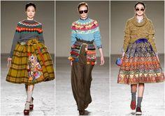 Stella Jean fashion show MFW - http://bit.ly/1BV2epz
