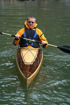 18' sea kayak made by heirloomkayak.com