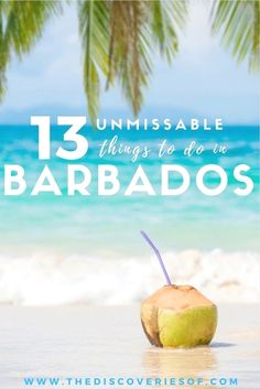 Dreaming of Barbados? Read our travel guide to the best things to do in Barbados now. Barbados Hotels I Barbados History I Barbados Food I Bridgetown I Photography I Honeymoon I Carnival I Barbados Holiday I St Lawrence Gap I Holetown #travel #beaches Barbados Wedding Få adgang til vores hjemmeside Meget mere information https://storelatina.com/barbados/travelling #placestoknow #باربادوس