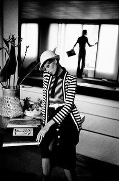 Frank Horvat - The '70s - Fashion & Illustration // 1972, Paris, for Vogue France