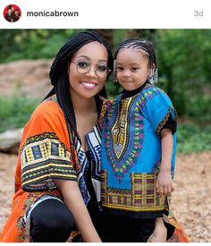 Singer #Monica and daughter Laiyah Brown. #Mommy&Me