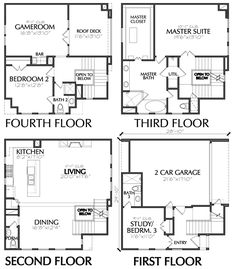 4 Story House Plans | 96 Best 4 Story Th Plan Images In 2019 Floor Plans House Floor