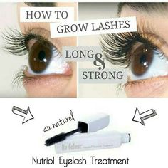 Nu skin eyelash treatment