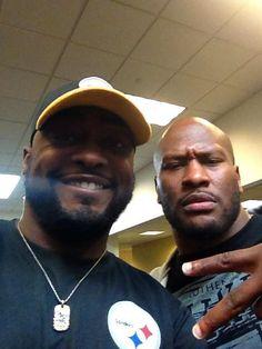 Pittsburgh Steelers - 9/27/14. He's BACK!!!