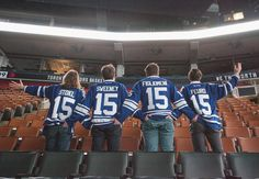 had a grand old time at the Air Canada Centre this afternoon in Toronto. check out the rad jerseys we got!! #sports  photo by @cjharvey2
