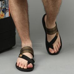 Vietnam shoes casual male slippers male beach slippers outdoor male slippers plus size summer slip-resistant slippers $23.67