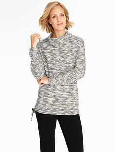 Talbots - Space-Dyed Top | |