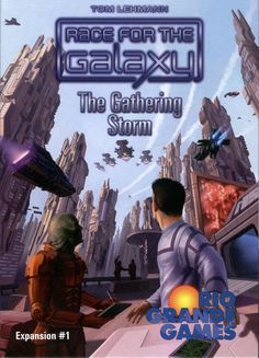 Amazon.com: Race For The Galaxy: The Gathering Storm: Toys & Games
