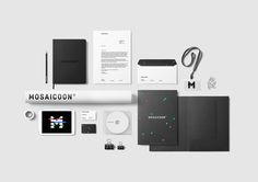 MOSAICOON — Rebranding personal concept on Behance
