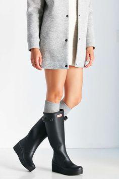 Hunter Original Low Wedge Rain Boot - Urban Outfitters