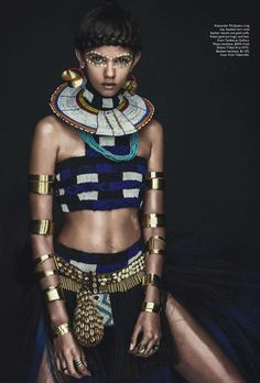 """How Did This """"Tribal"""" Vogue Australia April 2014 Editorial Get a Racism Pass?"""