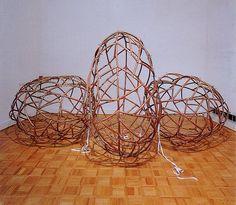 Joseph Semah, Between remembering and retelling, 1989, copper