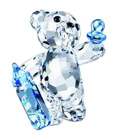 baby bear with bottle & pacifier