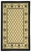 Courtyard 0901-3901 Outdoor Traditional Machine Made Rug $20.56 from selectrugs.com