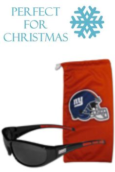 89d86a100451 Get our most popular New York Giants sunglasses with a matching microfiber  bag carrying case.