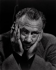 John Steinbeck, 1954.    Photo by Yousuf Karsh