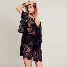 Cold Shoulder Lace Beach Cover Up Dress    https://beloveboutique.com/products/cold-shoulder-lace-beach-cover-up-dress