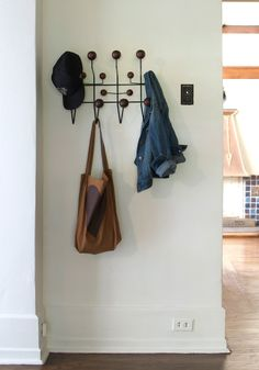 Also lusting after one of these eames coat hooks