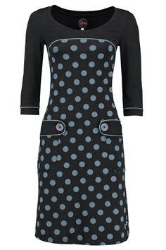 cd19cc81fe35 Dress Retro Go Dot Black - Tante Betsy Diy Kjole