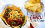 Chilli con carne ve dvou podobách Beef, Chicken, Cooking, Daughter, Food, Meal, Kochen, Essen, Hoods