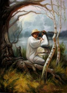 hidden pictures within paintings - Google Search