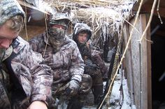 After a hot one like today I thought a hunt in a snow storm would cool you off!!!