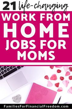Best Jobs for Stay-at-Home Moms--Live your dream of becoming a stay at home mom! Find work from home jobs for moms! Legitimate work from home jobs! No experience required for many! Many non-phone jobs! Work from home jobs for beginners! Best Money Saving Tips, Ways To Save Money, Money Tips, Saving Money, How To Make Money, Money Hacks, Frugal Living Tips, Frugal Tips, Work From Home Tips