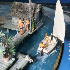 Diorama, Boat, Wound Healing, Nice Asses, Dinghy, Boats, Ship
