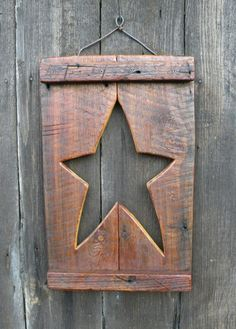 Rustic Wood Crafts, Primitive Wood Crafts, Primitive Stars, Primitive Christmas, Wooden Crafts, Primitive Snowmen, Country Christmas, Christmas Christmas, Wooden Pallet Projects