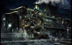 Sci Fi - Steampunk Wallpapers and Backgrounds