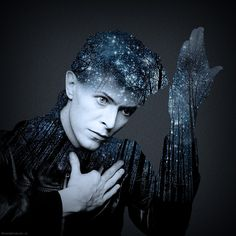 """David Bowie. """"Going Home"""" #Photoshop"""