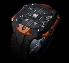 Avenger Vertical Tourbillon Watch Lamborghini Petrovic