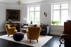 Swedish living room #nordic #interior