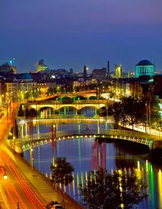 River Liffey Bridges, Dublin