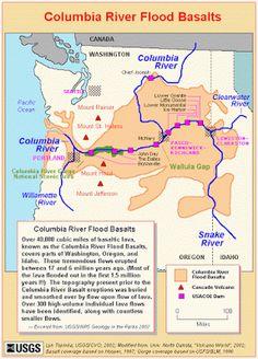 Viridian's Postcard Blog: Happy PFF - Washington State Geology