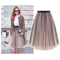 Women Tutu Vintage Rockabilly Petticoat Ballet Tulle Girls Skirt Fancy Dress
