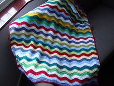 Ravelry: Ripple Blanket pattern by Lucy of Attic24