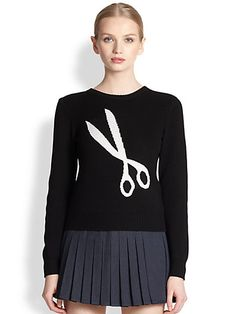 J.W. Anderson  Shears Logo Sweater