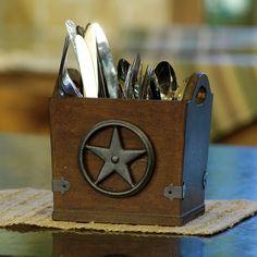Cute utensil holder