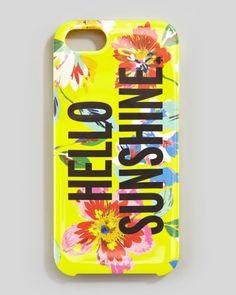 kate spade new york - hello sunshine iPhone 5 case